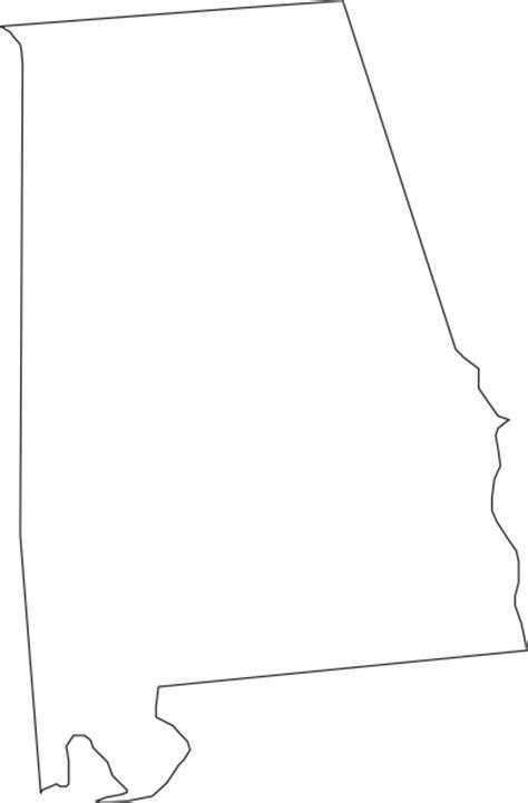 alabama outline clip art  clkercom vector clip art