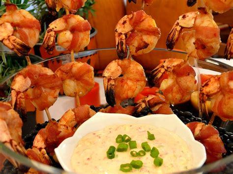 devils  horseback bacon wrapped shrimp   chili
