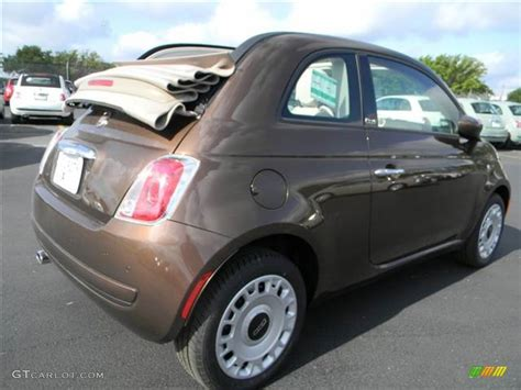 Fiat 500 Espresso by 2012 Espresso Brown Fiat 500 C Cabrio Pop 64664988