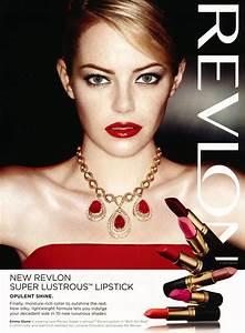 Emma Stone – #EmmaStone Revlon Ads (2017)
