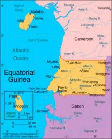 Visit to Euatorial Guinea - or Help Harrison with his Spanish Equatorial Guinea