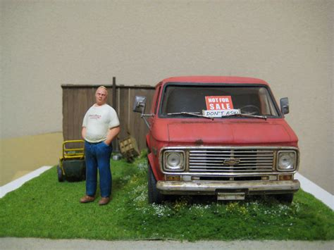 chevy not for sale 1 25 scale model diorama scale
