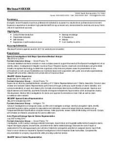 Property Adjuster Resume Sle by Insurance Specialist Resume Exle Insurance 28 Images Insurance Broker Resume Sle Resume