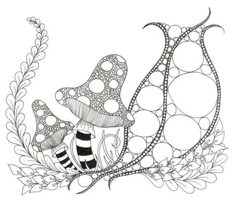 printable zendoodle coloring page  capturingstarlight  etsy