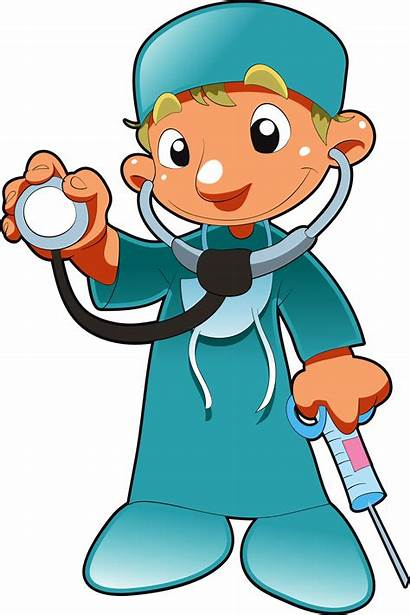 Professions Doctor Clipart Nurse Clip Physician Transparent