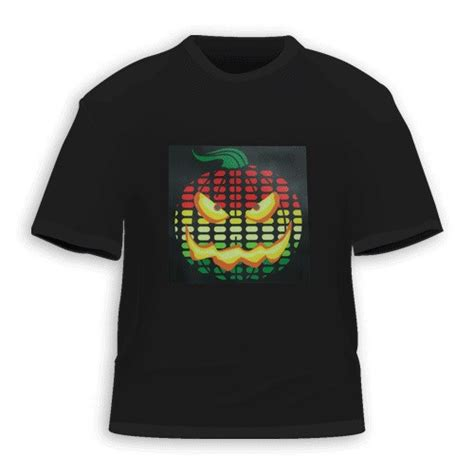 remain in light t shirt 2016 new logo sound activated led t shirt light up