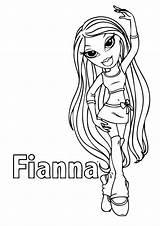 Bratz Coloring Printable Fianna Babyz Doll Drawing Colouring Pretty Girly Scrapbook Lil Pokemon Azcoloring Cartoon Sketch Marvel Disney Drawings Prints sketch template