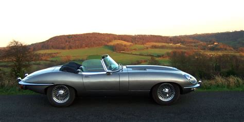 The Jaguar E-type Roadster Is Truly An Automotive Legend