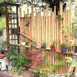 Tonnelle En Bambou : cloture en bambou bambouland bambou naturel ~ Premium-room.com Idées de Décoration