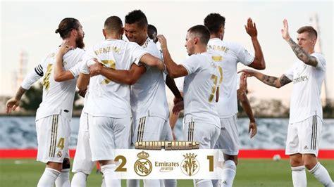 Real Madrid vs Villarreal 2-1 – Highlights [DOWNLOAD VIDEO ...