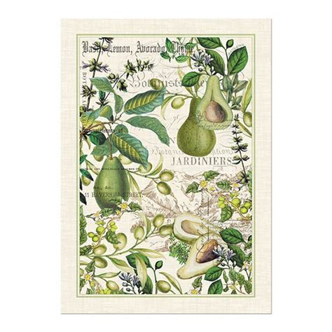 michel design works kitchen towel michel design works kitchen towel avocado collection 9159