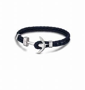 bracelet homme ancre bleu marine With robe fourreau combiné avec pandora bracelet cuir homme