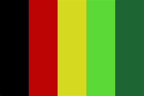 Jamaican Colors Color Palette