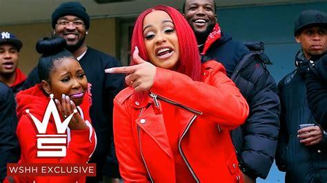 cardi b friend star brim in jail cardi b quot red barz quot wshh exclusive official music video