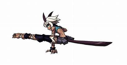 Skullgirls Animation Character Tsuyu Camp Reference Hero