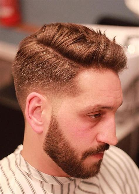 mens side part hairstyles   trend setter