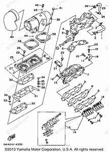 Yamaha Waverunner 1994 Oem Parts Diagram For Intake