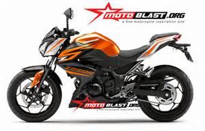 Z 250 Modif by Modif Striping Kawasaki Z250 Black Ktm1 Motoblast