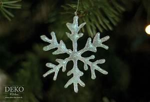 Schneeflocken Basteln Vorlagen : weihnachtsdeko basteln funkelnde eiskristalle aus hei kleber deko kitchen ~ Frokenaadalensverden.com Haus und Dekorationen