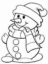 Coloring Pages Snowman Winter Christmas Google Colouring Printable Sheets Drawings sketch template