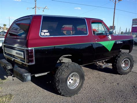 rammer  dodge ramcharger specs  modification