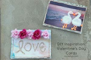 DIY Inspiration: Last minute Valentine's Day Cards!