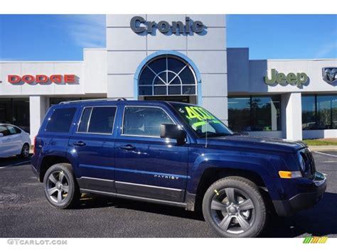 blue jeep patriot 2015 true blue pearl jeep patriot latitude 100816057