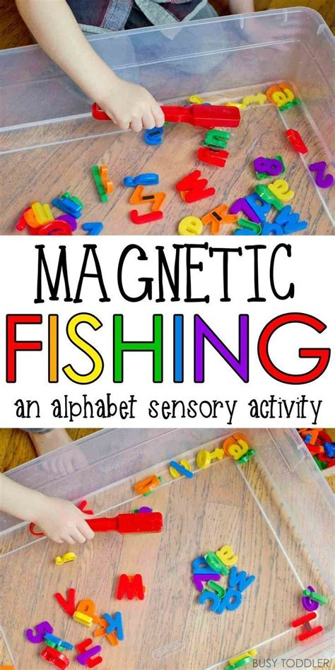 sensory activities for preschool magnetic alphabet fishing sensory activities activities 568