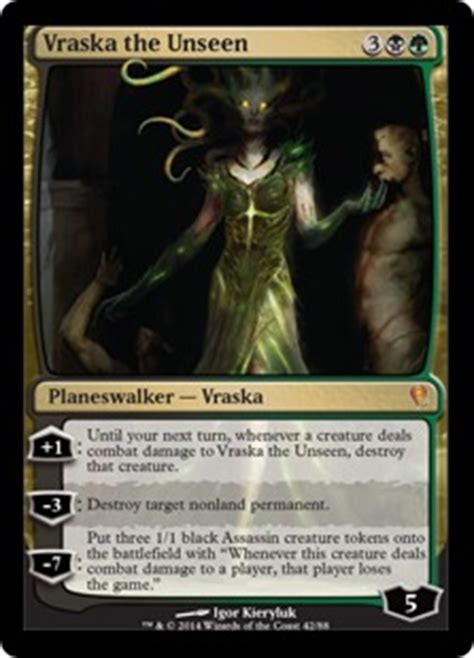mtg jace illusion deck vraska the unseen from jace vs vraska spoiler