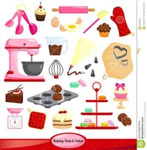 Baking Tools Clip Art Vector