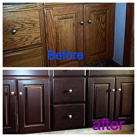 Rustoleum Cabinet Refinishing Kit From Home Depot by Superb Cabinet Transformation Kit 7 Rust Oleum Cabinet