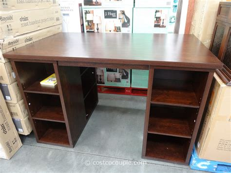 Bayside Furnishings Onin Roast Hazelnut Project Table. Craft Storage Drawers. Document Holder For Desk. Replacement Antique Drawer Pulls. Industrial Writing Desk. White High Gloss Corner Desk. Writing Desk And Chair Set. Tiled Coffee Table. Shaw Help Desk