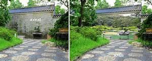 trompe l39oeil exterieur With trompe l oeil exterieur jardin