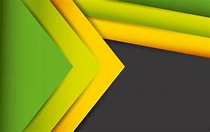 Wallpaper Abstract Lines, Stock, Yellow, Green, HD ...