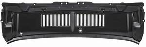 1968 Ford Mustang Parts | 02228ARH | 1967-68 Mustang Upper Cowl Vent