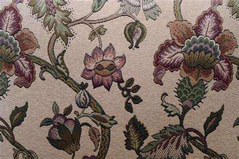 stock photo floral fabric background texture