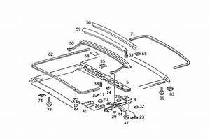 Moonroof Repair Kit  U0026 Replacement Sunroof Parts