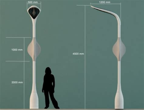 embryo solar  wind hybrid streetlight concept ecofriend