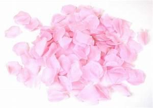 Silk Rose Flower Petals 300 Light Pink