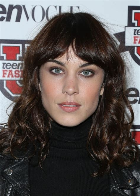 alexa chung hairstyles long curly hair popular
