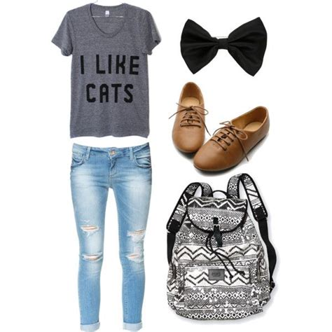 7 best High school outfit ideas images on Pinterest | Teenage clothing High school outfits and ...