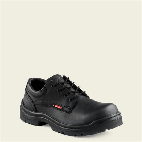 mens  electrical hazard king toe oxford red wing