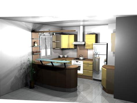 maison avec cuisine americaine cuisine americaine moderne avec bar