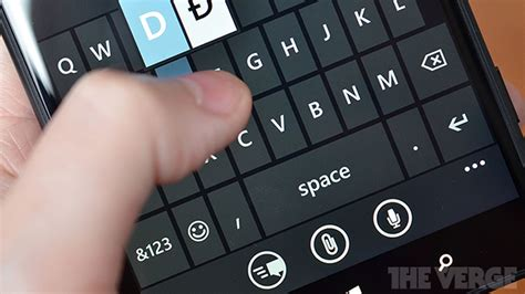 microsoft  bringing  excellent windows phone keyboard