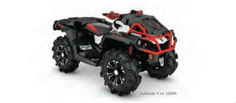 2016 Can-am® Outlander® X® Mr Family