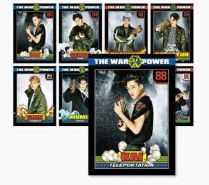 exo the power of smtown coex artium sum goods 3d lenticular post card set ebay