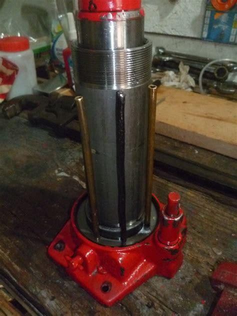 presse hydraulique avec cric bouteille