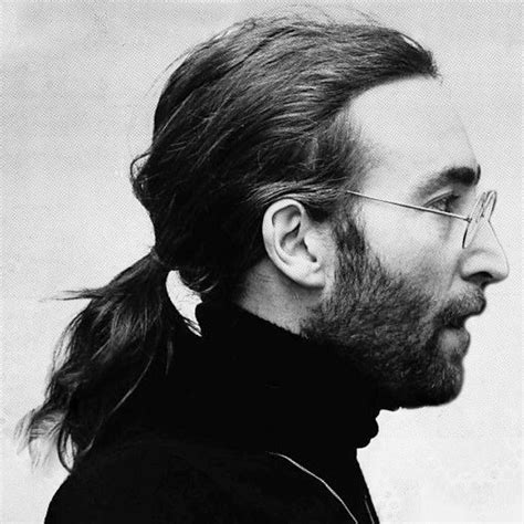 john lennon modelling the mitchell baker hairstyle