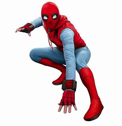 Spiderman Spider Homecoming Deadpool Homemade Suit Cartoon