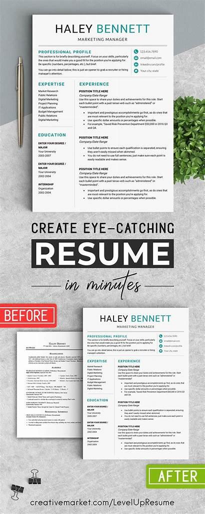 Editable Resume Word Template Ms Templates Prd